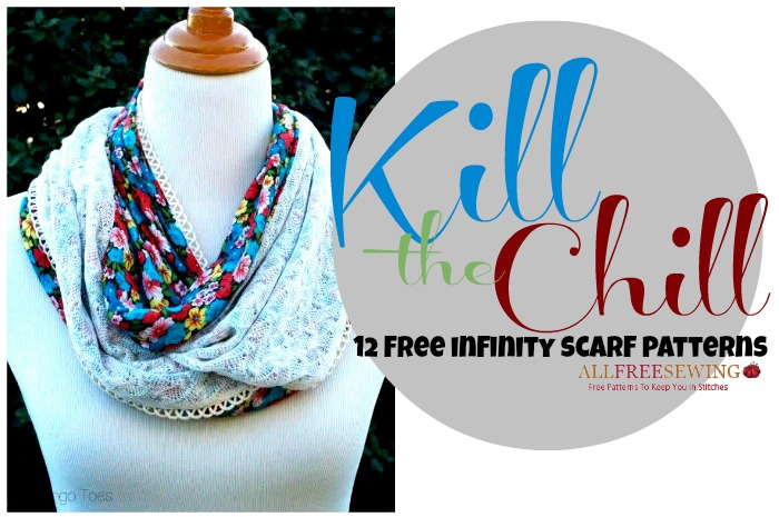 Kill the Chill with an Infinity Scarf Pattern: 12 Free Scarf ...