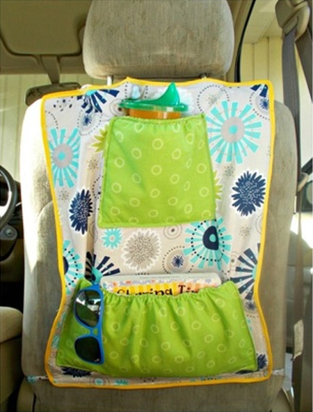 Insulated Car Seat Organizer