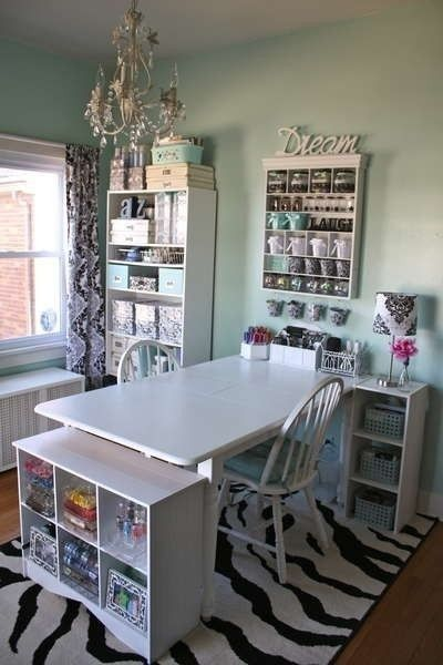 Funky Craft Room Ideas