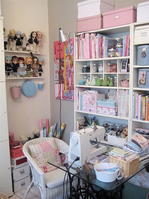 Clutter Bug Craft Room Ideas