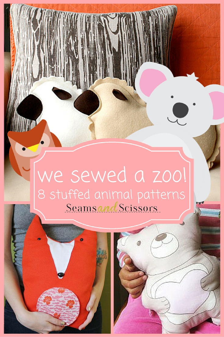 we sewed a zoo!