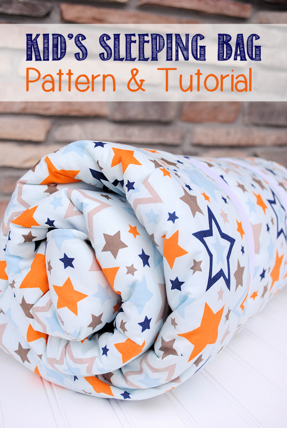Kid Sleeping Bag Pattern & Tutorial