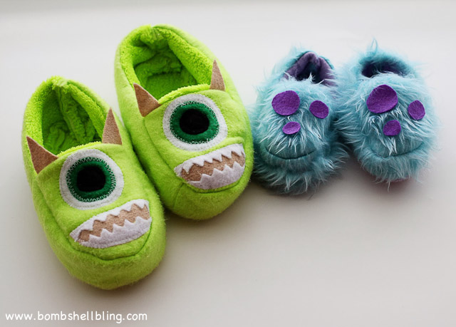 Monsters Inc Slippers