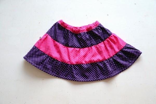 Pienkel Tiered Skirt 13
