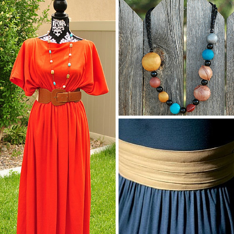 How to Style a Maxi Dress + Free Long Dress Patterns - Seams And ...