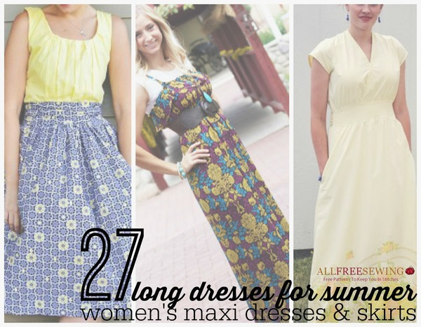 How To Style A Maxi Dress Free Long Dress Patterns Seams And