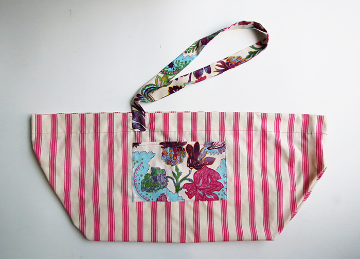 the big beach bag sewing tutorial ohohblog 11