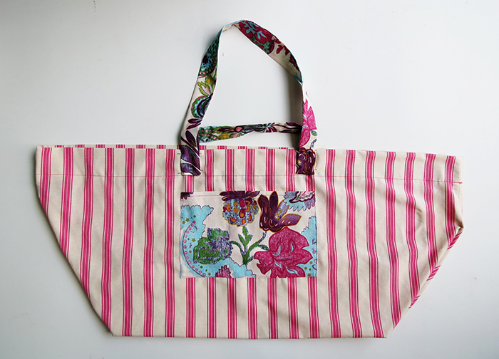 the big beach bag sewing tutorial ohohblog 12