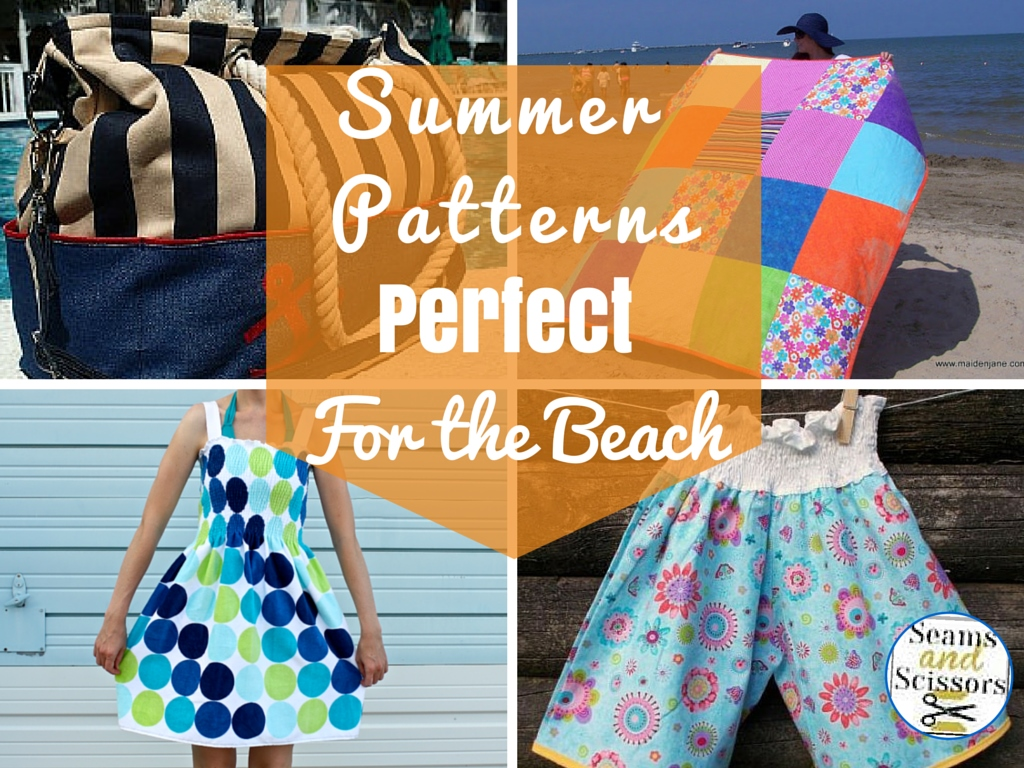 12 summer sewing projects perfect for the beach seams and scissors before summer is officially upon us its time to begin creating your diy beach bag and learn how to make a beach towel its time to sew a cute bucket hat jeuxipadfo Gallery