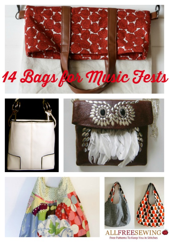 14 Bags for Music Fests