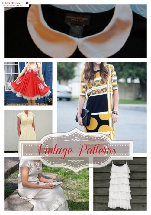 Free Vintage Sewing Patterns You Need To Make Now Seams And Scissors