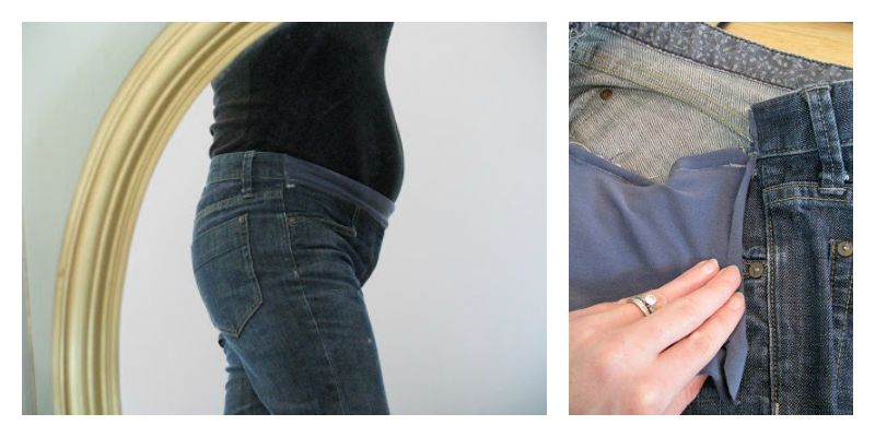 Sewing Maternity Jeans