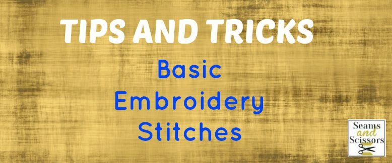 Basic Stitches