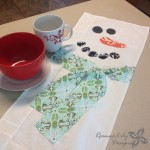 Snowman Table Runner NSM 2015