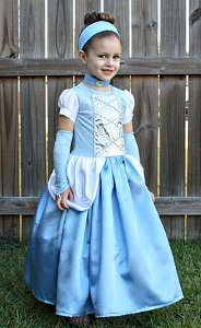Simple Cinderella Costume