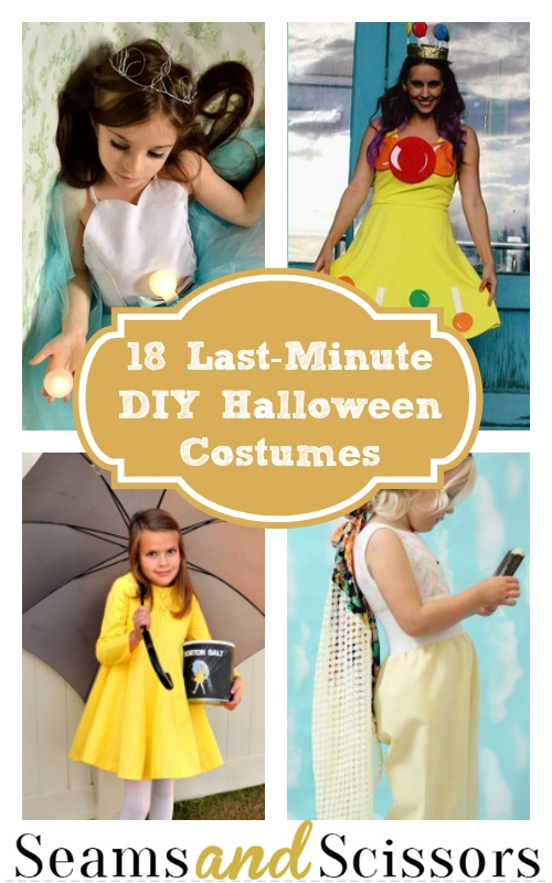 Last-Minute DIY Halloween Costumes
