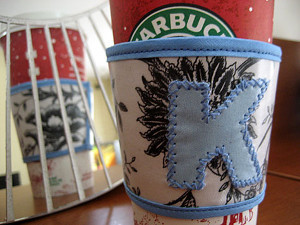 DIY Coffee Sleeve