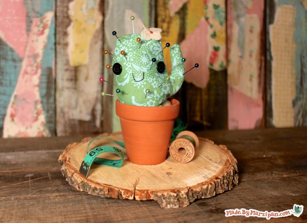 cactus shaped pincushion