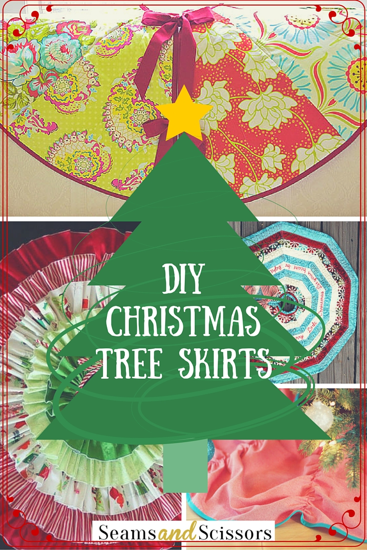 Diy christmas decoration tree skirt patterns