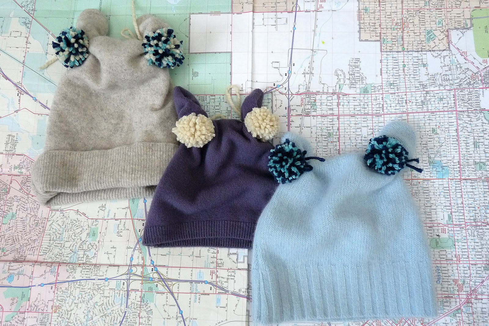 Upcycled Sweater Hat