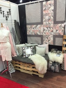 Quilt Market 2015 Camelot Booth
