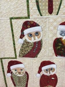 Santa Owls Quilt Pattern