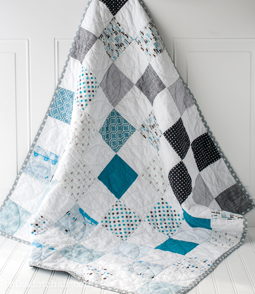 Blue Ombre Quilt Pattern
