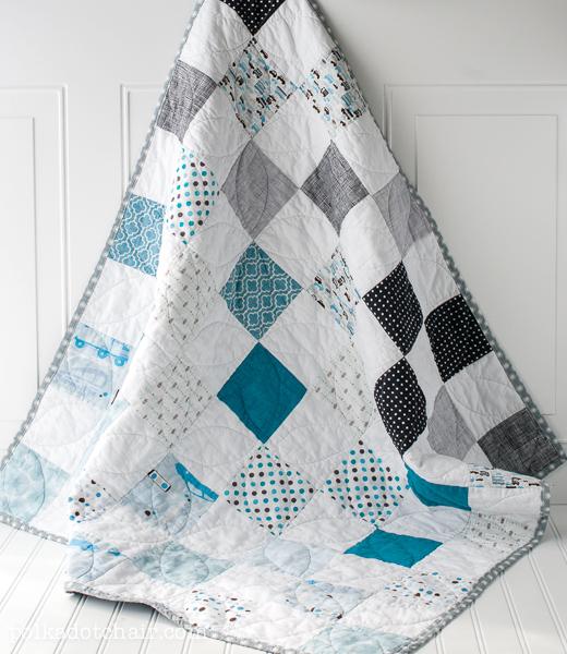 Blue Ombre Quilt Pattern