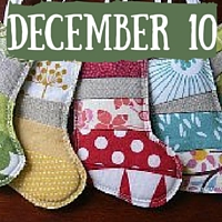 Quilted Stocking Ornaments