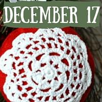 Doily Snowflake Ornament