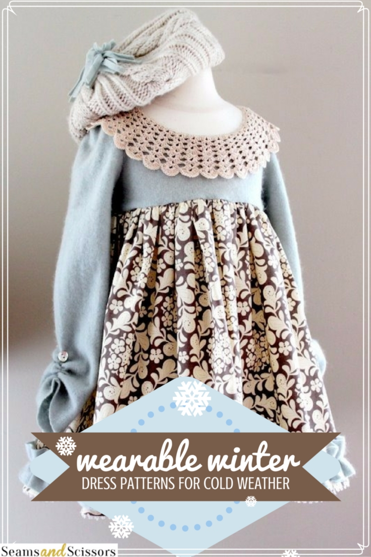 winter dress patterns