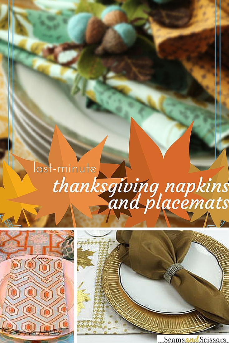 Thanksgiving Napkins and Tablecloths