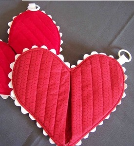 Heart Hot Pad Pattern