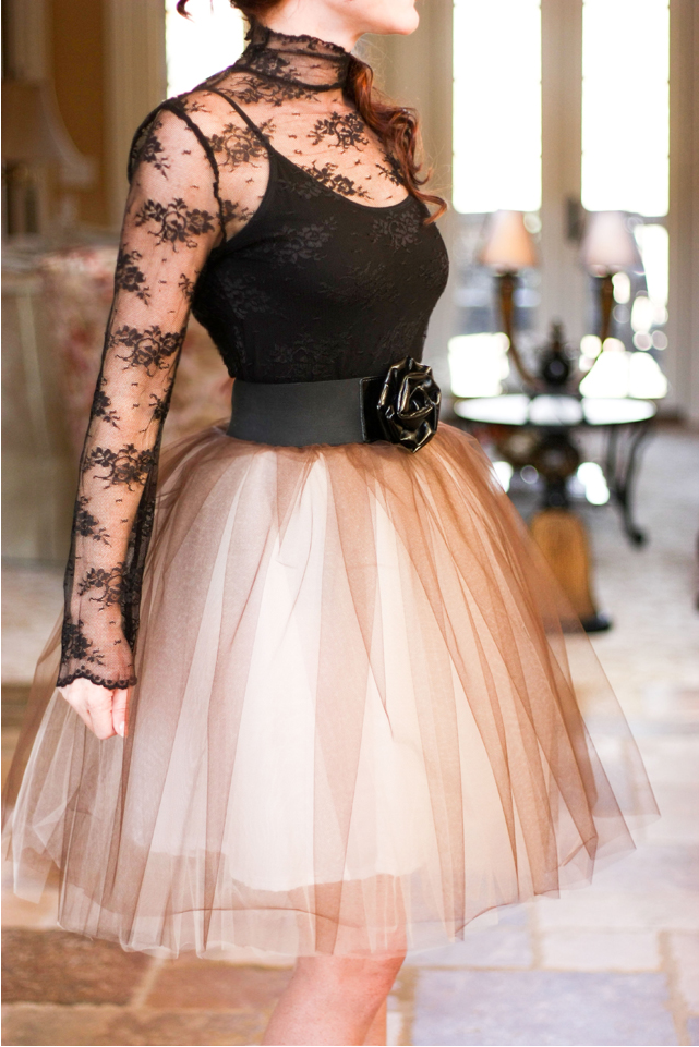 Lovely DIY Tulle Skirt