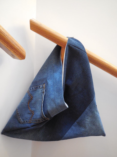 Denim Tri Bag 14