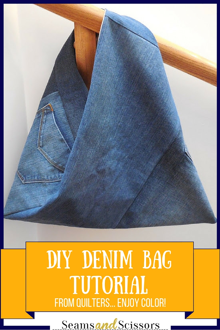 diy denim bag tutorial