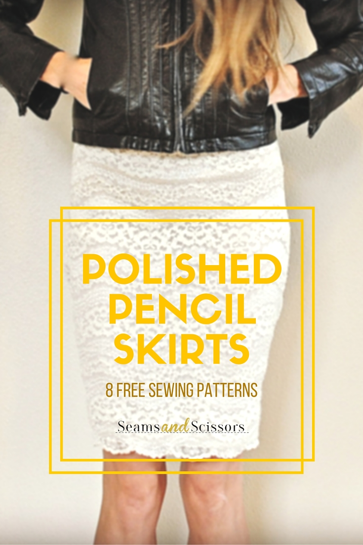 pencil skirt sewing patterns