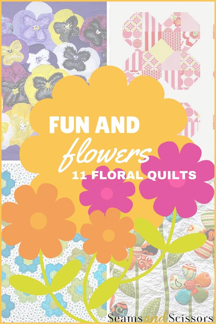 floral quilt patterns