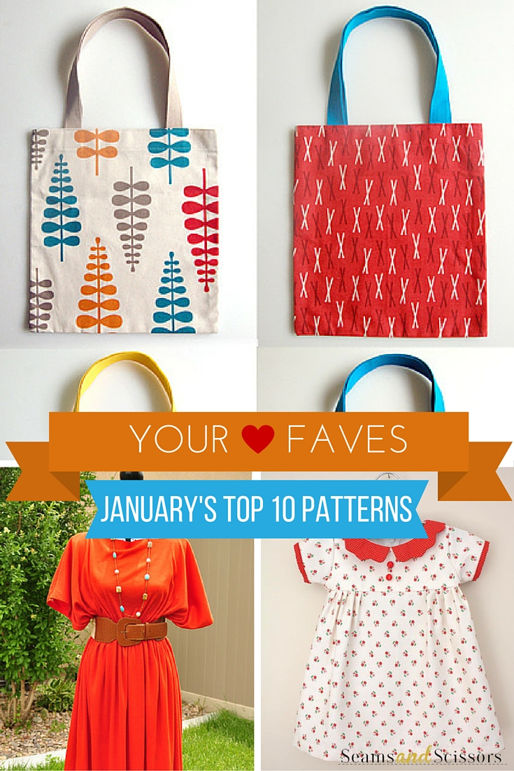 Top sewing projects from January 2016