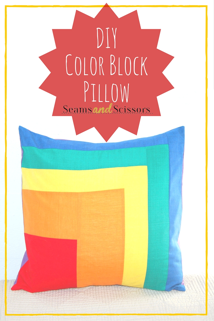 DIYColor BlockPillow