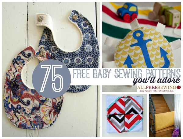 75+ Free Baby Sewing Patterns You\'ll Adore! - Seams And Scissors