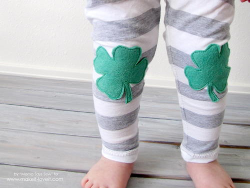 Little Leprechaun Baby Pants