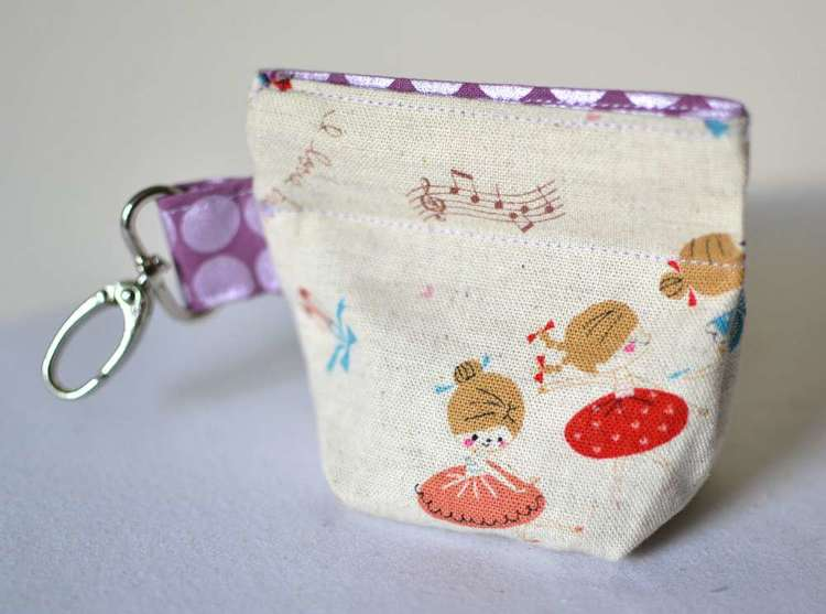 Snappy DIY Coin Pouch