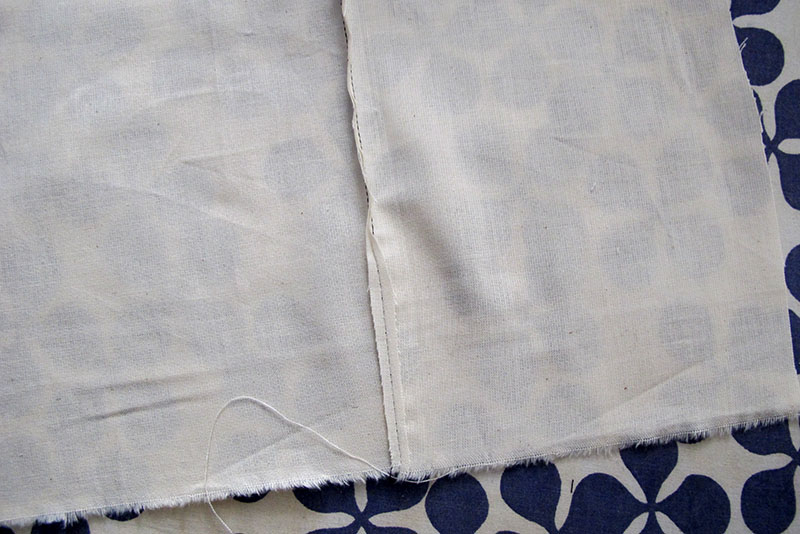 Sew a french seam 6