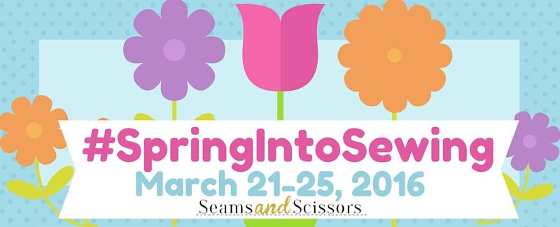 #SpringIntoSewing