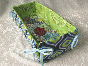 Clever Scrap Fabric Basket