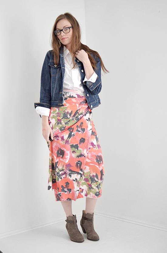 No Sew Skirt Tutorial