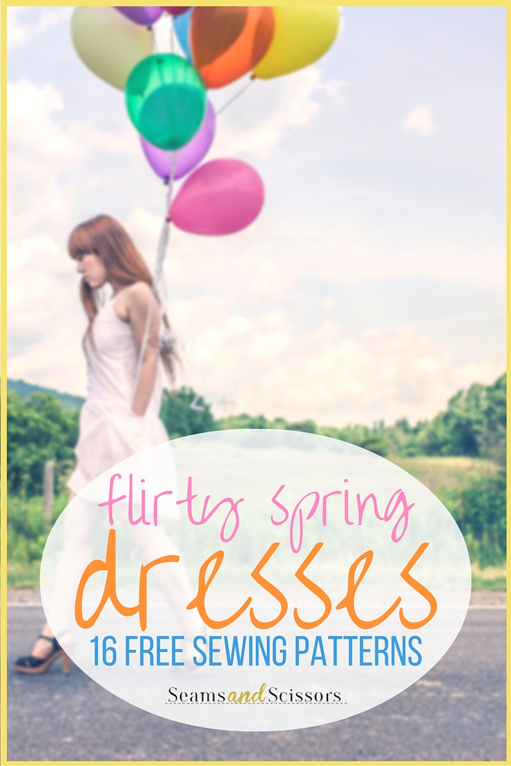 Flirty Spring Dress Patterns