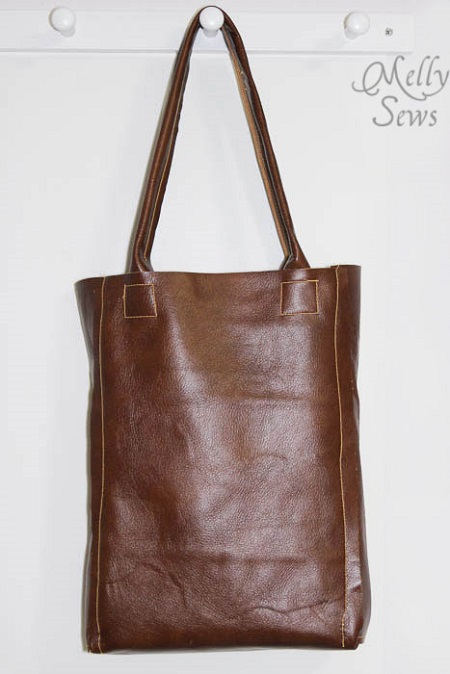 Luxurious Leather Tote Bag