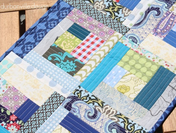 Quilt As You Go Log Cabin Pattern